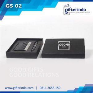 GS02 Giftset Pena Gantungan Kunci Custom