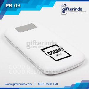 Power Bank-Custom putih Android