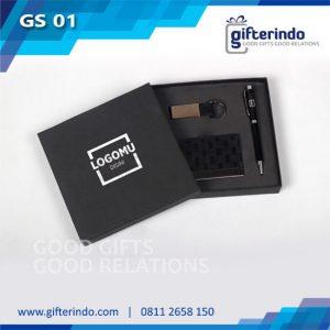 GS01 Giftset Pena Gantungan Kunci Custom