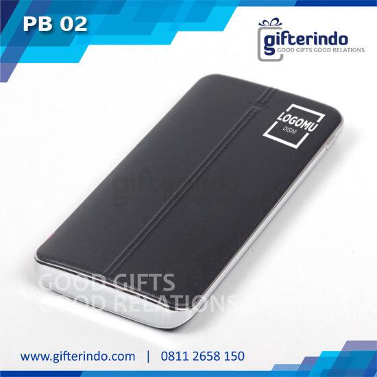 PB02 Power Bank Custom Black Android