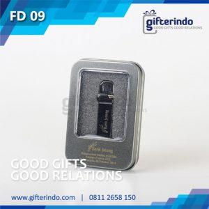 FD09 Flashdisk Metal Bank Jateng