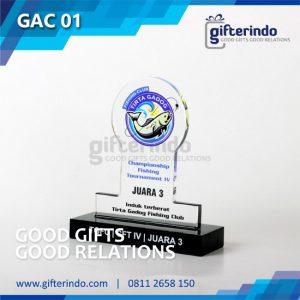 GAC 01 Plakat Akrilik Fishing Club Tirta Gadog