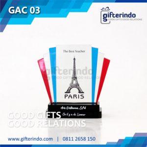 GAC03 Plakat Akrilik Best Teacher