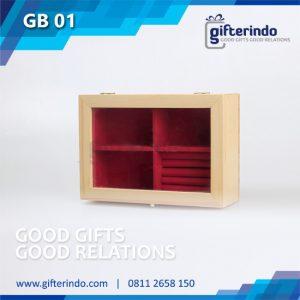 GB01 Gift Box Kombinasi Kayu