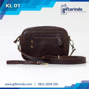 KL01 Poch Kulit Custom