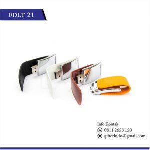 FDLT21 Flashdisk Kulit Metal