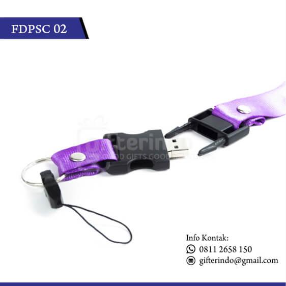 Flashdisk Plastik Kalung