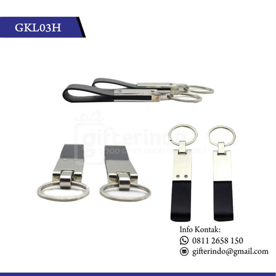 Gantungan Kunci Metal Logam