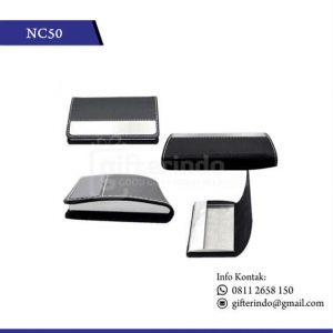 Office Suplies Name Card Holder Kulit