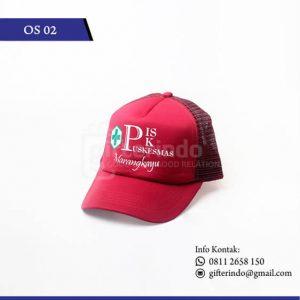 Topi Custom Puskesmas Marangkayu