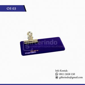 Name Tag Custom Bank Mandiri